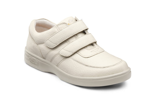 Dr. Comfort Beige Collette Women's Shoe (Velcro) | Diabetic Shoes | Orthopedic Shoe