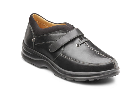 Dr. Comfort Black Delight Women's Shoe | Diabetic Shoes | Orthopedic Shoe