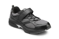 Dr. Comfort Black Endurance Men's Athetic Shoe | Diabetic Shoes | Orthopedic Shoe
