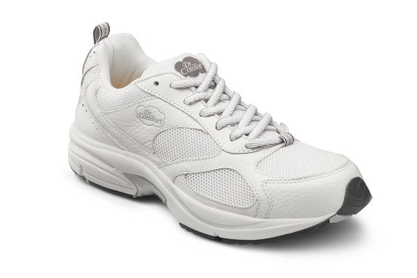 Dr. Comfort White Endurance Plus Men's Athletic Shoe | Diabetic Shoes | Orthopedic Shoe