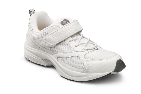 Dr. Comfort White Endurance Men's Athetic Shoe | Diabetic Shoes | Orthopedic Shoe