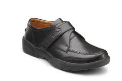 Dr. Comfort Black Frank Men's Dress Shoe | Diabetic Shoes | Orthopedic Shoe
