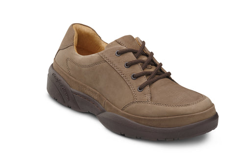 Dr. Comfort Chestnut Justin Casual Men's Shoe | Diabetic Shoes | Orthopedic Shoe