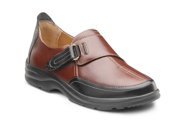 Dr. Comfort Chestnut Kristin Women's Shoe | Diabetic Shoes | Orthopedic Shoe