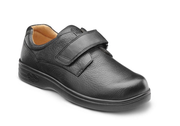 Dr. Comfort Black Maggy-X Women's Casual Shoe (Velcro)