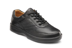 Dr. Comfort Black Patty Women's Casual Shoe (Lace) | Diabetic Shoes | Orthopedic Shoe