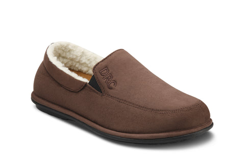 Dr. Comfort Chocolate Relax Men's Slipper | Diabetic Slipper | Orthopedic Slipper