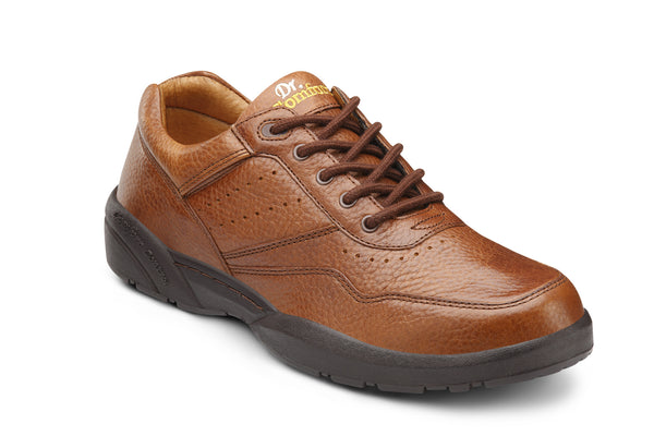 Dr. Comfort Brown Robert Men's Casual Shoe (Lace) | Diabetic Shoes | Orthopedic Shoe