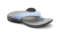 Dr. Comfort Light Blue Shannon Women's Sandal | Diabetic Sandal | Orthopedic Sandal