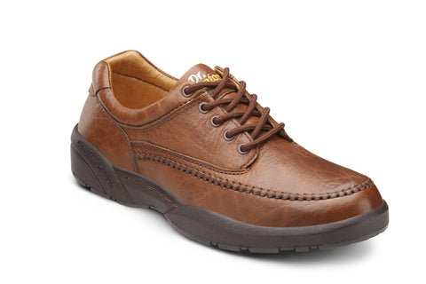 Dr. Comfort Chestnut Stallion Men's Dress Shoe | Diabetic Shoes | Orthopedic Shoe