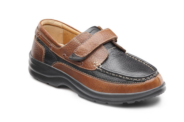 Dr. Comfort Wave Women's Boat Shoe (Velcro) | Diabetic Shoes | Orthopedic Shoe