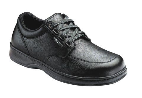 Orthofeet 410 Avery Island Men's Comfort Shoe Black | Diabetic Shoes