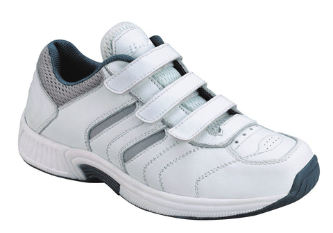 Orthofeet 650 Ventura Men's Athletic Shoe White | Diabetic Shoes