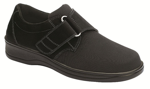 Orthofeet 825 Wichita Women's Black Comfort Shoe | Diabetic Shoes