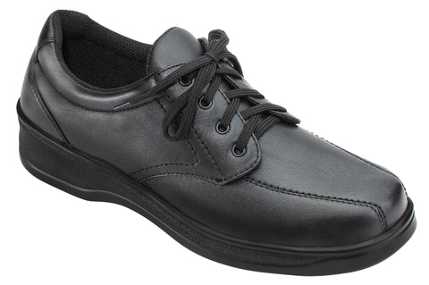 Orthofeet 701 Lake Charles Women's Comfort Shoe Black | Diabetic Shoes