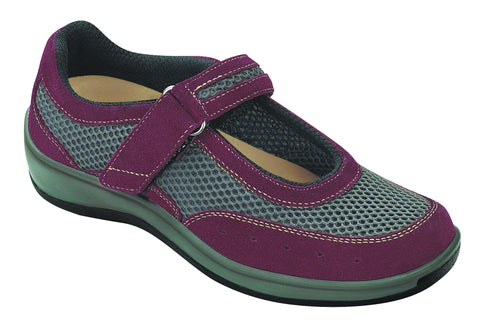 Orthofeet 859 Women's Red Casual Shoe | Diabetic Shoes