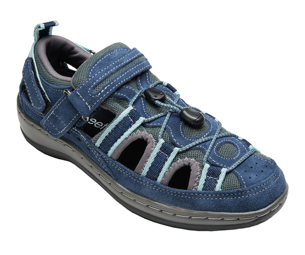 Orthofeet 875 Women's Casual Blue Shoe | Diabetic Shoes
