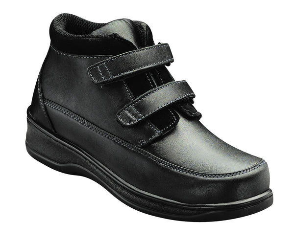 Orthofeet 881 Women's Casual Black Shoe | Diabetic Shoes