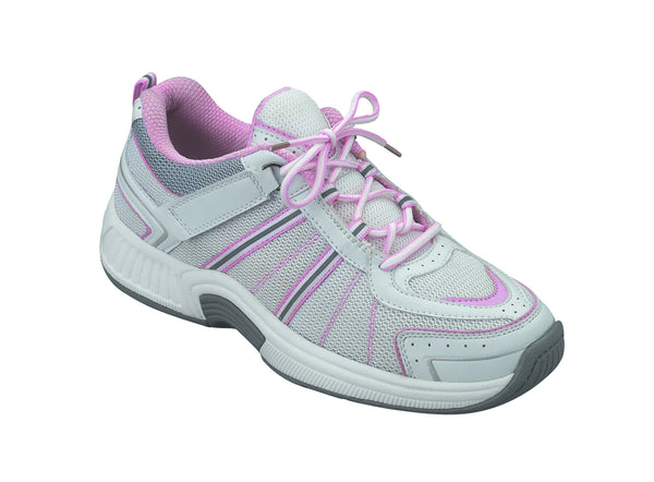 Orthofeet 910 Women's White Sport Shoe | Diabetic Shoes
