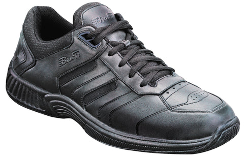 Orthofeet 941 Women's Black Sport Shoe | Diabetic Shoes