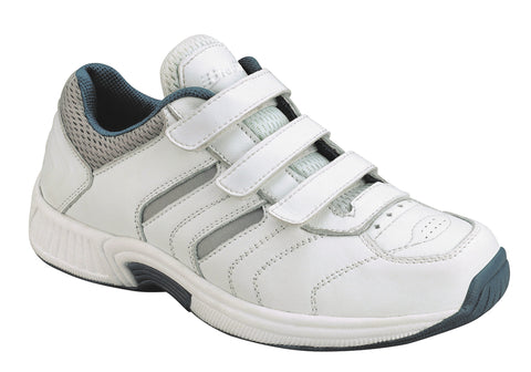 Orthofeet 950 Women's White Sport Shoe | Diabetic Shoes