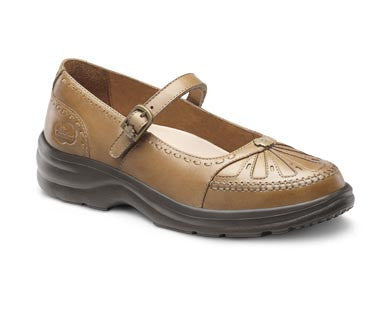Dr. Comfort Saddle Tan Paradise Women's Dress Shoe | Diabetic Shoes | Orthopedic Shoe