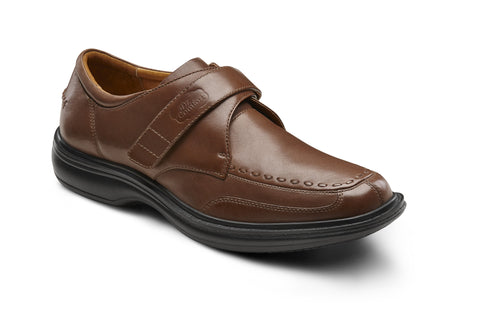 Dr. Comfort Bark Frank Men's Dress Shoe | Diabetic Shoes | Orthopedic Shoe