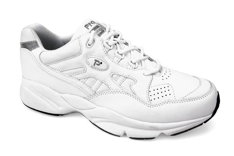 White Propet M2034 Stability Walker Men's Shoe- Diabetic Shoes