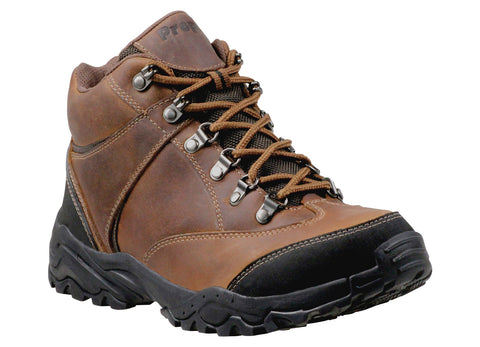 Brown Propet M3594 Navigator Men's Shoe- Diabetic Shoes