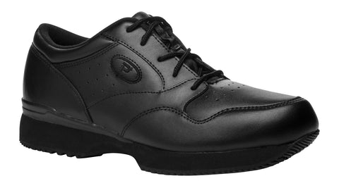 Black Propet M3704 LifeWalker Men's Shoe- Diabetic Shoes