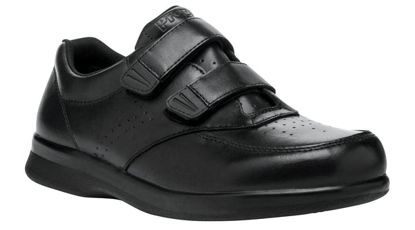 Black Propet M3915 Vista Men's Shoe (Hook-and-Loop)- Diabetic Shoes