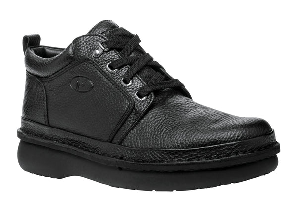 Black Propet M4078 Villager Mid Men's Shoe- Diabetic Shoes