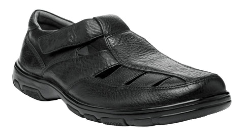 Black Propet M4114 Lakeport Men's Shoe- Diabetic Shoes