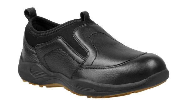 Black Propet M4404 Wash & Wear Pro Slip-on Men's Shoe- Diabetic Shoes