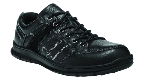Black Propet M4500 Dylan Men's Shoe- Diabetic Shoes
