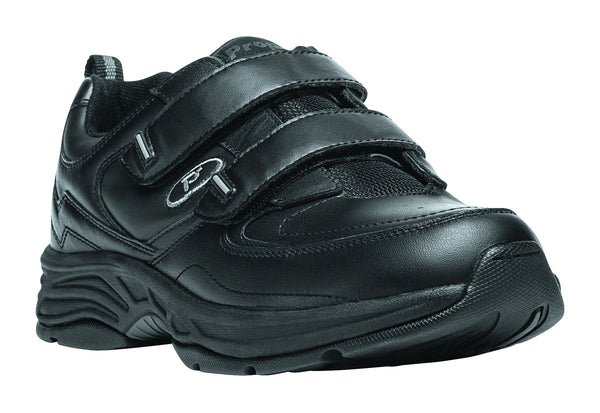 Black Propet M5500 Warner Men's Shoe (Hook and Loop)- Diabetic Shoes