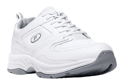 White Propet M5501 Warner Men's Shoe- Diabetic Shoes