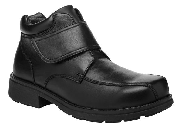 Black Propet MB105 Rodney Men's Shoe- Diabetic Shoes