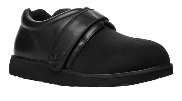 Black Propet MPED3 PedWalker 3 Men's Shoe- Diabetic Shoes