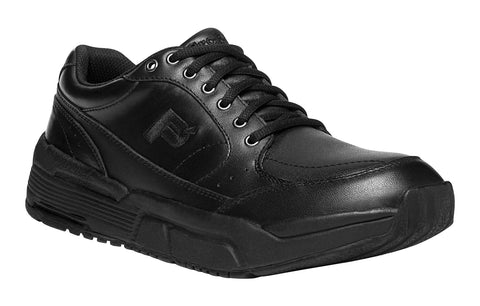 Black Propet MPRX50 Sanford Men's Shoe- Diabetic Shoes