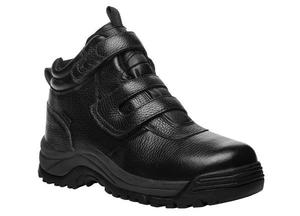 Black Propet MPRX85 Cliff Walker Men's Shoe (Hook-and-Loop)- Diabetic Shoes