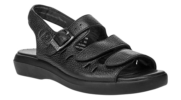 Black Propet W0001 Breeze Women's Shoe- Diabetic Shoes