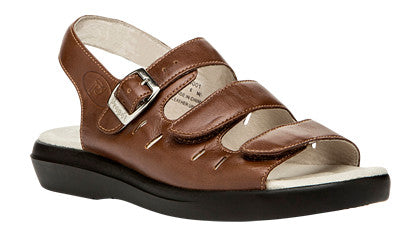 Teak Brown Propet W0001 Breeze Women's Shoe- Diabetic Shoes