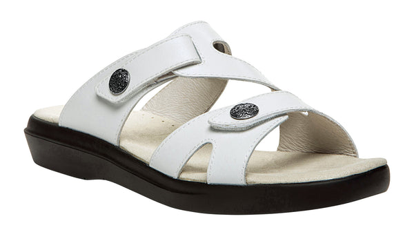 White Propet W0038 St. Lucia Women's Shoe- Diabetic Shoes