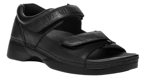 Black Propet W0089 Pedic Walker Women's Shoe- Diabetic Shoes