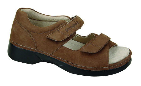 Choco Nubuck Propet W0089 Pedic Walker Women's Shoe- Diabetic Shoes