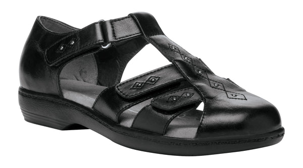 Black Propet W0310 Heather Women's Shoe- Diabetic Shoes