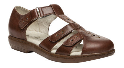 Chestnut Propet W0310 Heather Women's Shoe- Diabetic Shoes