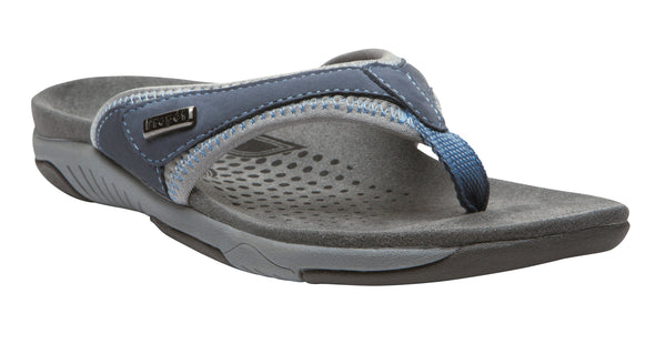Denim Blue/Light Blue Propet W0600 Hartley Women's Shoe- Diabetic Shoes