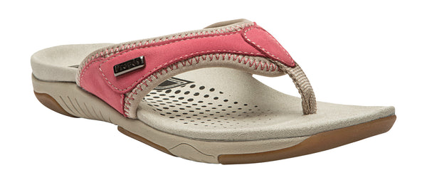 Melon/Taupe Propet W0600 Hartley Women's Shoe- Diabetic Shoes